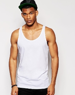 ASOS - Tank With Relaxed Skater Fit