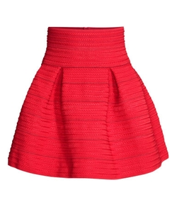 H&M - Textured Skirt