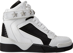 Givenchy - High-top Star Ankle-strap Sneakers