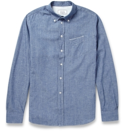 Officine Generale - Japanese Chambray-Cotton Shirt