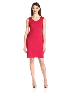 Star Vixen - Classic Sleeveless Sheath Dress
