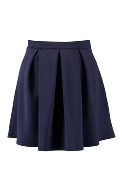 Boohoo - Box Pleat Skater Skirt