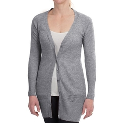Brodie  - Long Fitted Cashmere Cardigan