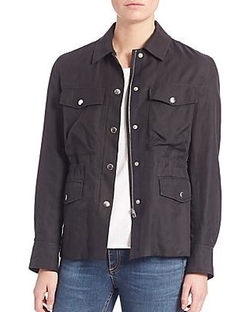 Rag & Bone/JEAN - Snap Field Jacket
