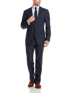 Tommy Hilfiger - Cashman Plaid 2 Button Side Vent Suit
