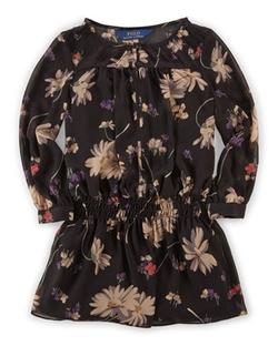 Ralph Lauren Childrenswear - Floral Chiffon Dress