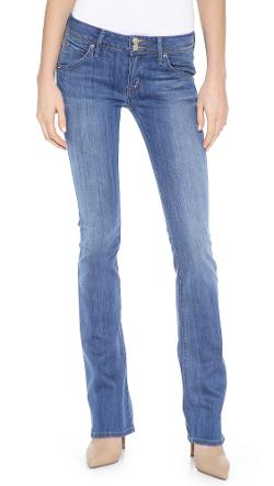Hudson  - Beth Midrise Baby Bootcut Jeans