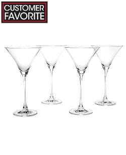 Lenox Stemware - Tuscany Classics Martini Glasses, Set of 4