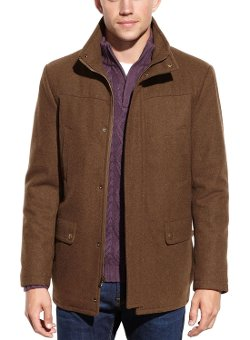 Kenneth Cole New York - Wool Blend Car Coat