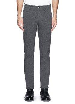 Attachment   - Stretch Knit Slim Fit Pants