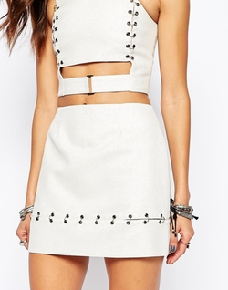 The Laden Showroom - X Rok & Rebelle Mini Skirt