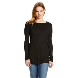 Mossimo - Drop Shoulder Long Sleeve Tee