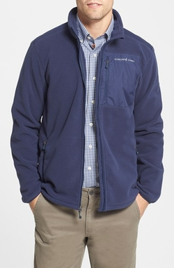 Vineyard Vines  - Polartec Wind Pro Full Zip Fleece Jacket