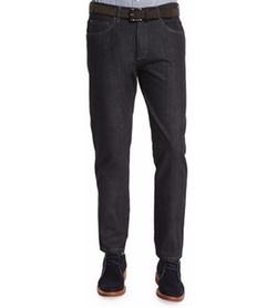 Ermenegildo Zegna - Cotton-Silk Five-Pocket Denim Jeans