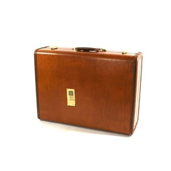 Samsonite - 1940s Leather Suitcase