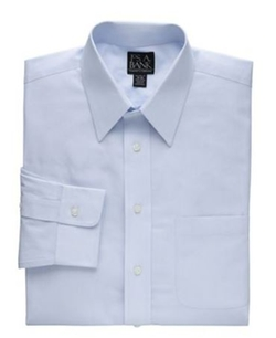 Jos.A.Bank - Tailored Fit Point Collar Dress Shirt