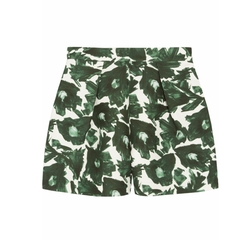 Mother Of Pearl - Nyos Printed Cotton-Blend Shorts