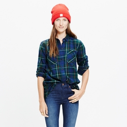 Madewell - Ontario Plaid Shirt