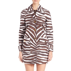 Michael Michael Kors - Printed Safari Coat