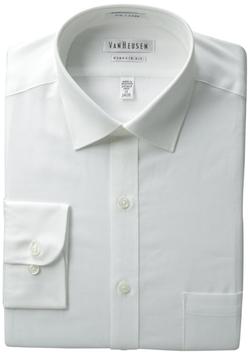 Van Heusen - Pincord-Texture Solid Shirt