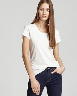 REISS Tee   - Daina Scoop Neck