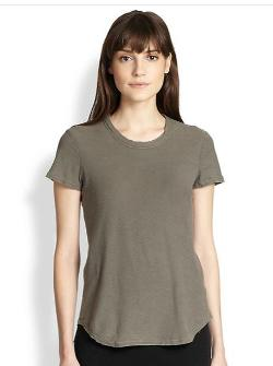 James Perse - Cotton Slub T-Shirt