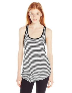 Volcom - Juniors Lived In Stripe Racer Tank Top