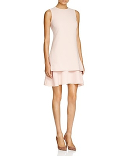 Theory  - Malkan Tiered Hem Dress