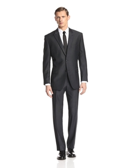 Marc Andrew Marc - Tic Weave Two Button Suit