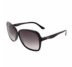 O By Oscar De La Renta - Oversized Square Acetate Sunglasses, Black