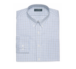 Lauren Ralph Lauren - Multi-Color Checked Dress Shirt