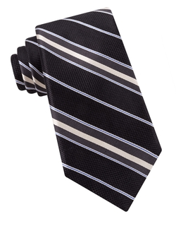 Ike By Ike Behar - Silk Striped Tie