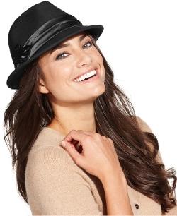 Nine West - Felt Porkpie Fedora Hat