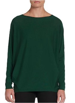 Lafayette 148 New York  - Ribbed-Back Wool Sweater