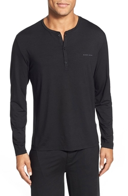 Boss - Long Sleeve Henley