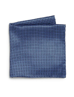 Brioni  - Woven Check Pocket Square
