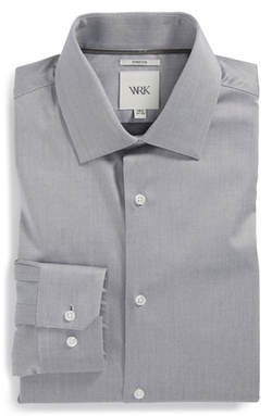 W.R.K  - Trim Fit Stretch Twill Dress Shirt
