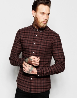 Asos - Skinny Check Shirt