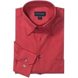 Scott Barber  - Andrew Melange Twill Shirt