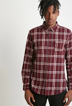 Forever 21 - Plaid Flannel Shirt