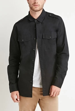 21 Men - Utility Pocket Shirt