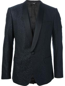 Dolce & Gabbana  - Three-Piece Brocade Suit