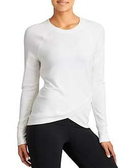 Athleta - Criss Cross Sweatshirt