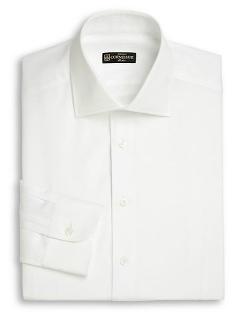 Corneliani  - Cotton & Linen Dress Shirt