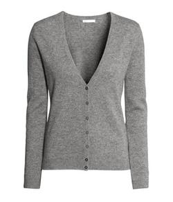 H&M - Fine Knit Cashmere Cardigan