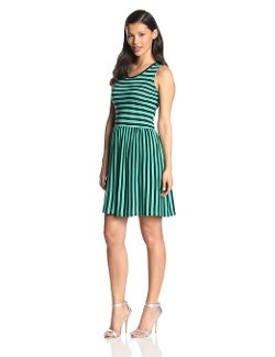 French Connection  - Martha Striped Jersey Dress