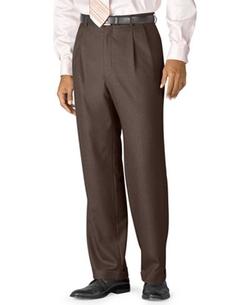 Lauren Ralph Lauren  - Wool Double-Reverse Pleated Dress Pants