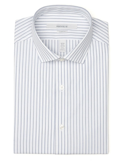 Perry Ellis International - Classic Fit Dobby Stripe Dress Shirt