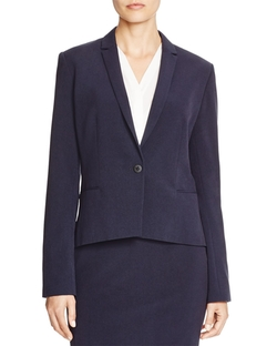 T Tahari - T Tahari Carina Single Button Blazer