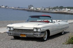 Cadillac - 1960 62 Convertible Car